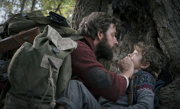 Silence is golden in A QUIET PLACE (2018)