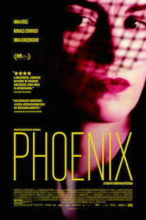 Film Poster for Phoenix by Christian Petzold - Half Lit Face of a Woman