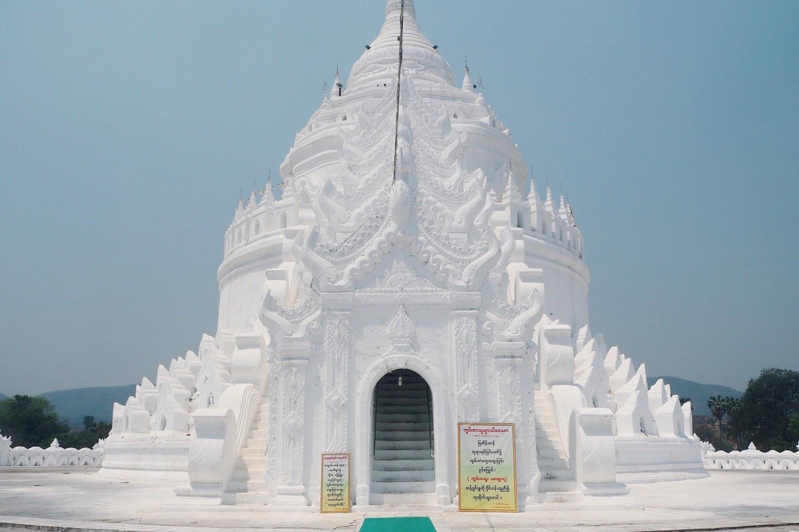 Hsinbyume Pagoda Mingun