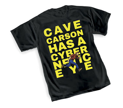 Cave Carson Has A Cybernetic Eye T-Shirt by Michael Avon Oeming x DC Comics x Graphitti Designs