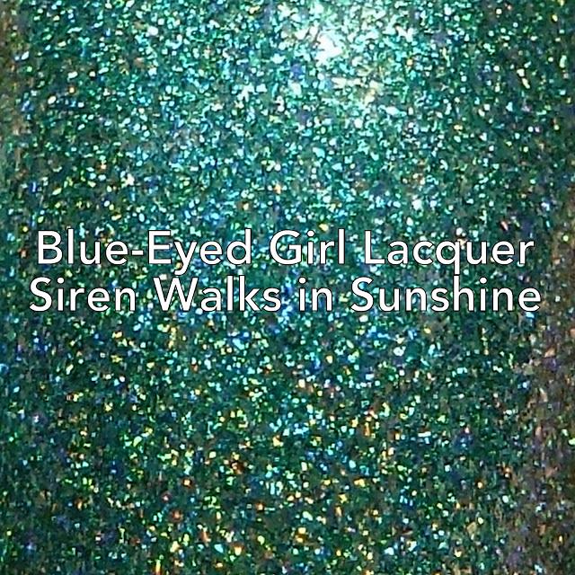 Blue-Eyed Girl Lacquer Siren Walks in Sunshine