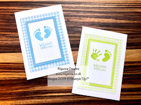 Nigezza Creates Stampin' Up! First Steps #GDP188 & Inspire.Create.Challenge #042
