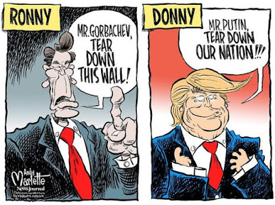 Trump Reagan Cartoon