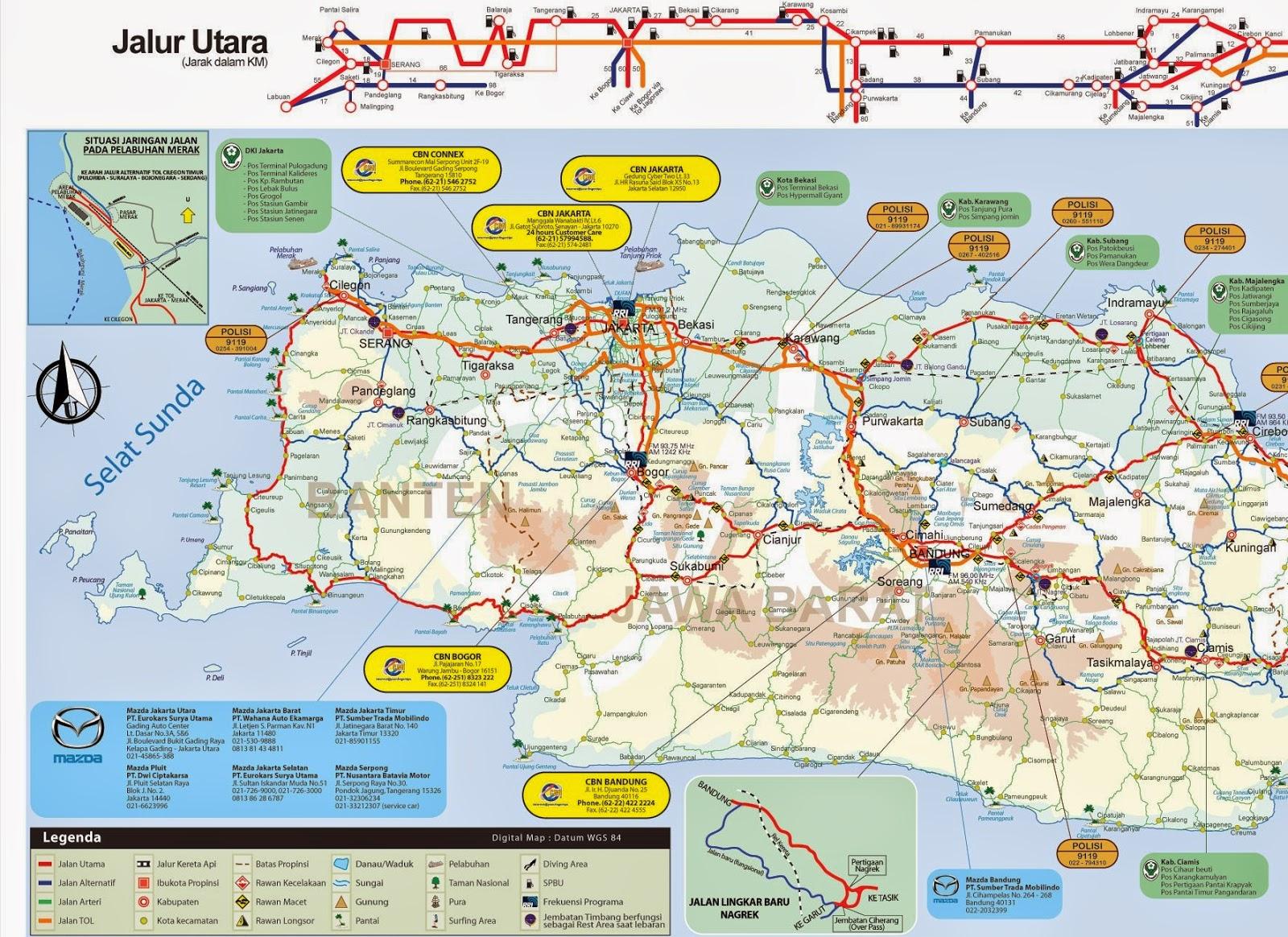 Download Peta Mudik Lebaran 2014 - Kallebos Outbound Tour ...