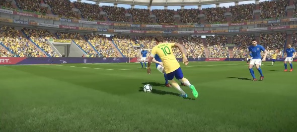 PES 2018 InMortal ProEvo Gameplay Mod R5