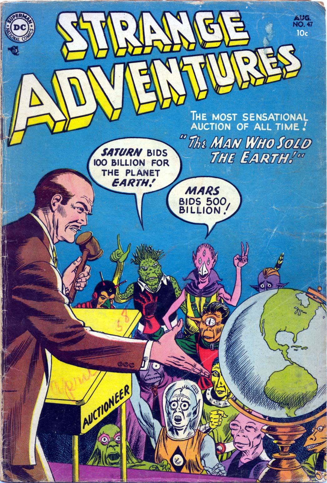 Strange Adventures (1950) issue 47 - Page 1