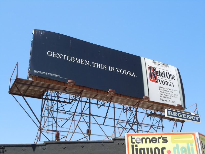 Gentlemen Ketel One Vodka billboard