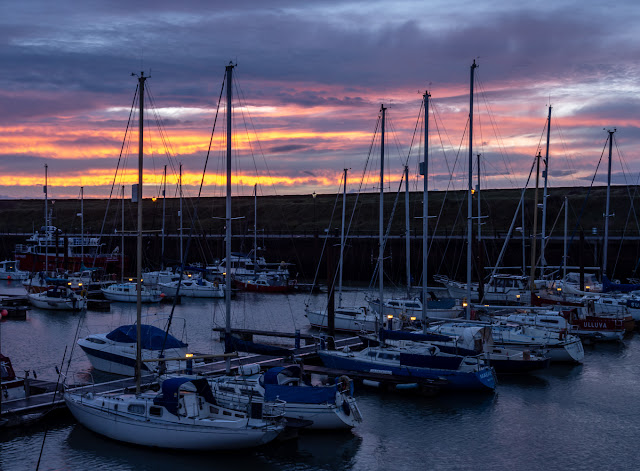 Photo of sunset at Maryport Marina