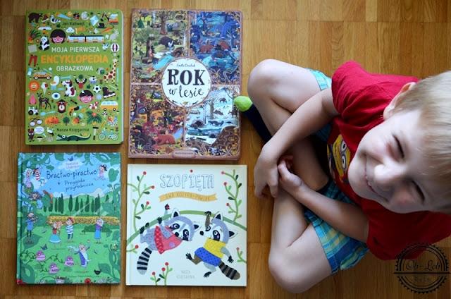 Książkowi ulubieńcy Oliwiera: sierpień