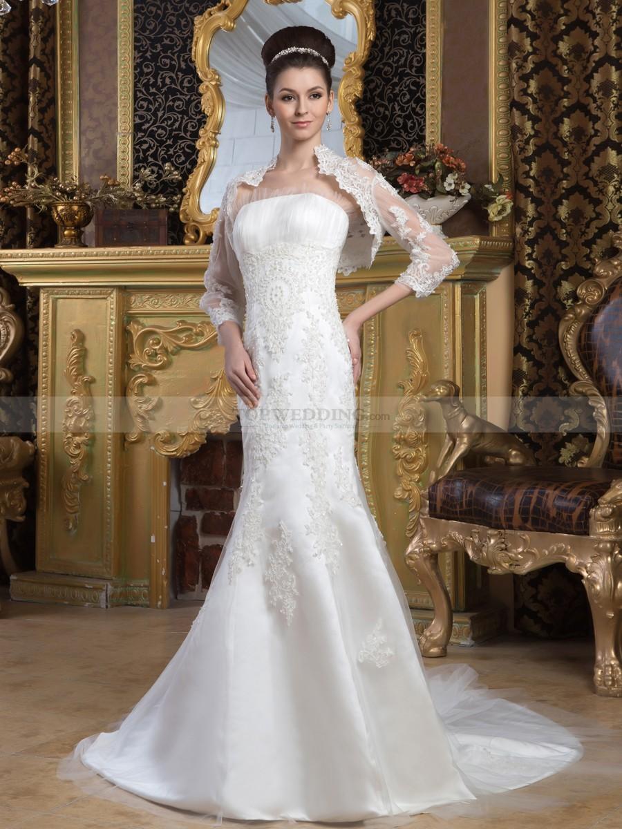 Mature Brides Wedding Dress With Jackets | brides bridal wedding trends