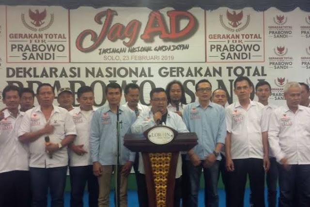 'Gerakan Total' 5 Juta Relawan Gatot Siap Tumbangkan 'Perang Total' Moeldoko