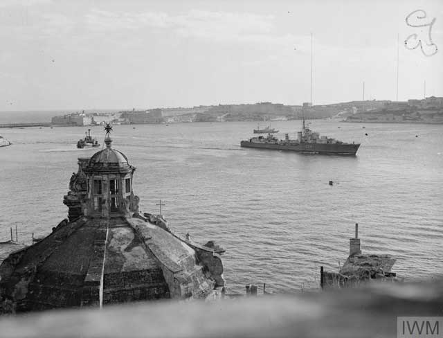 HMS Maori at Malta, 27 January 1942 worldwartwo.filminspector.com