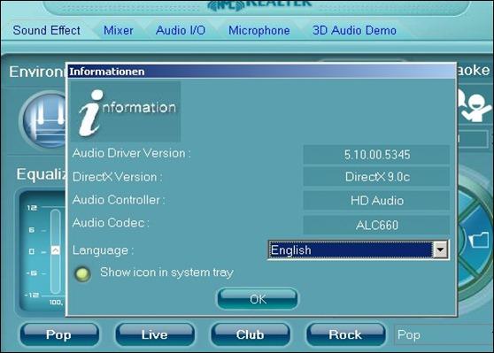 Realtek ac97 xp sp2 32bit