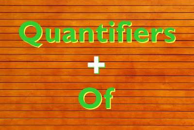 Cara Menggunakan Quantifiers + Of Dengan Benar