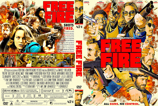 Free Fire DVD Cover