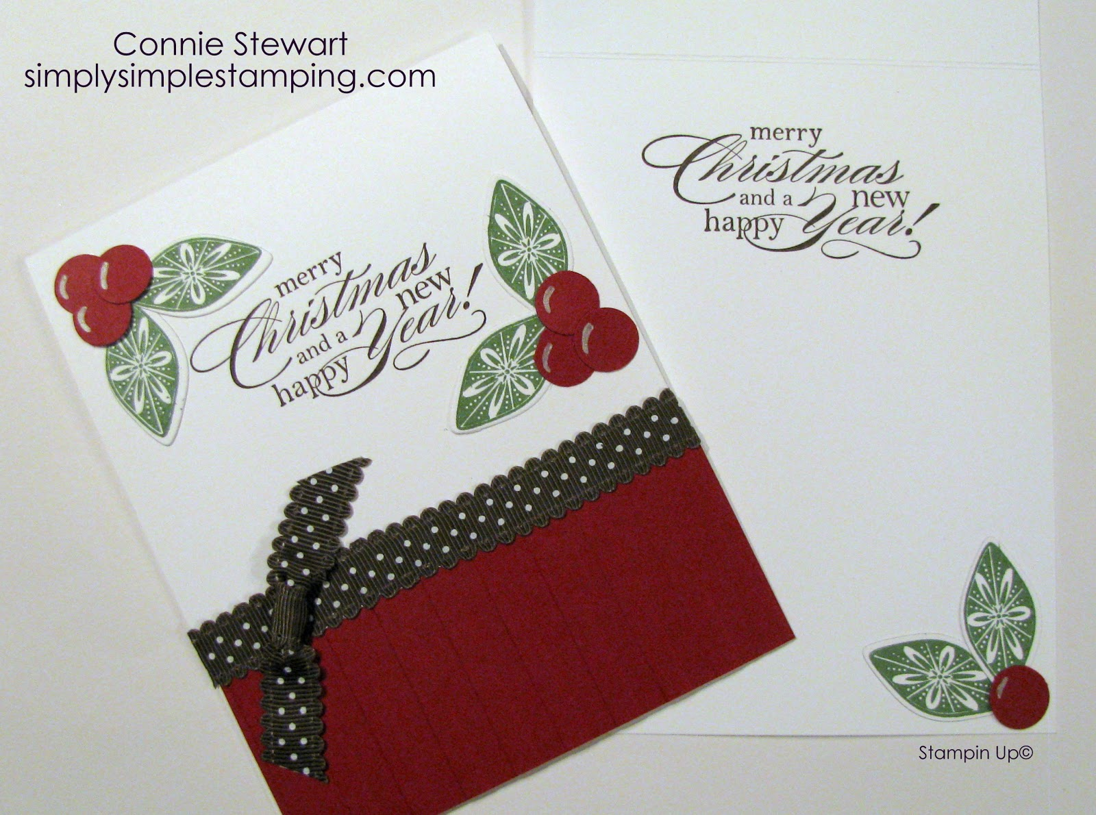 Holly berries flash card video no 19 simply simple stamping holly berries flash card video no 19 kristyandbryce Image collections