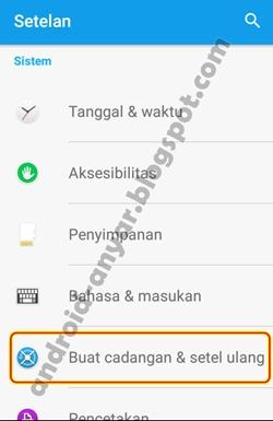 Cara Mudah Reset Ulang Android