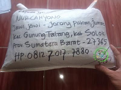 Benih Padi TRISAKTI pesanan Nurcahyono (Sesudah Packing)
