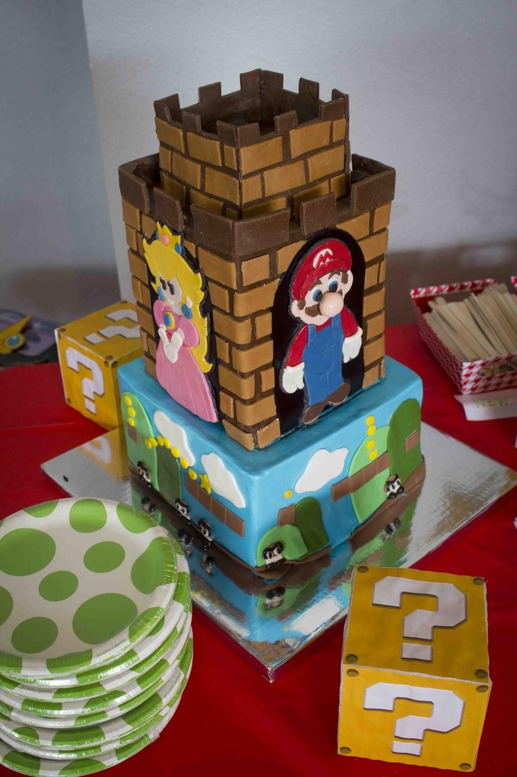 Super Mario Baby Shower