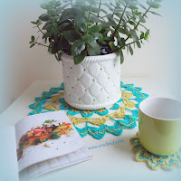 how to crochet, mandalas, coasters, placemats, doilies,