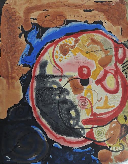 Juan Torralba pintura abstracta cuadro