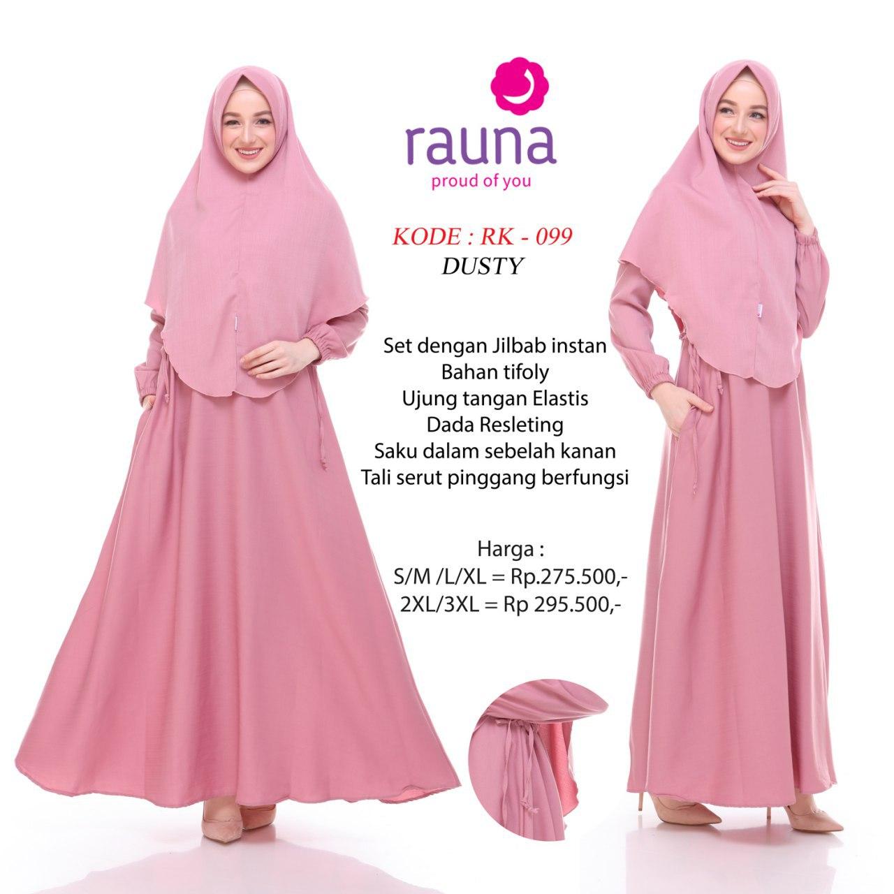 Model Baju Gamis Rauna Terbaru Jualan Online Lazada