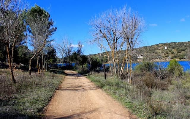 Rutas por la lagunas de Ruidera. Laguna la Colgada. Lagunas de Ruidera