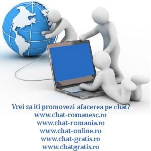 vrei sa iti promovezi afacerea pe chat