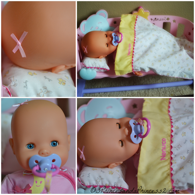 Nenuco Sleep with Me Baby Doll & Cradle