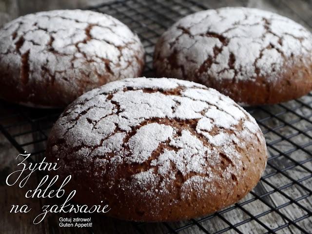 Chleb żytni na zakwasie. Walory zdrowotne - Czytaj więcej »