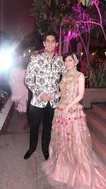 Cocktail party at Jaipur Tulsi Kumar wedding photos