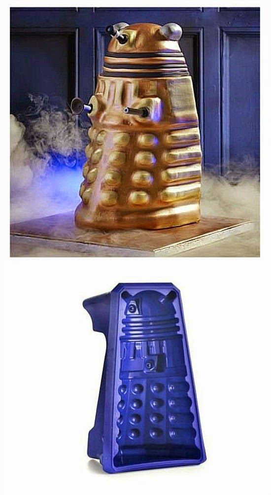 Dalek non-stick, flexible cake mould