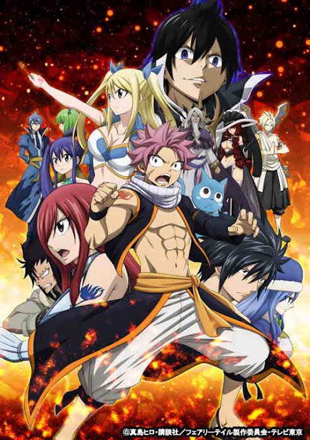 Anime Fairy Tail Kolaborasi Dengan Mameshiba