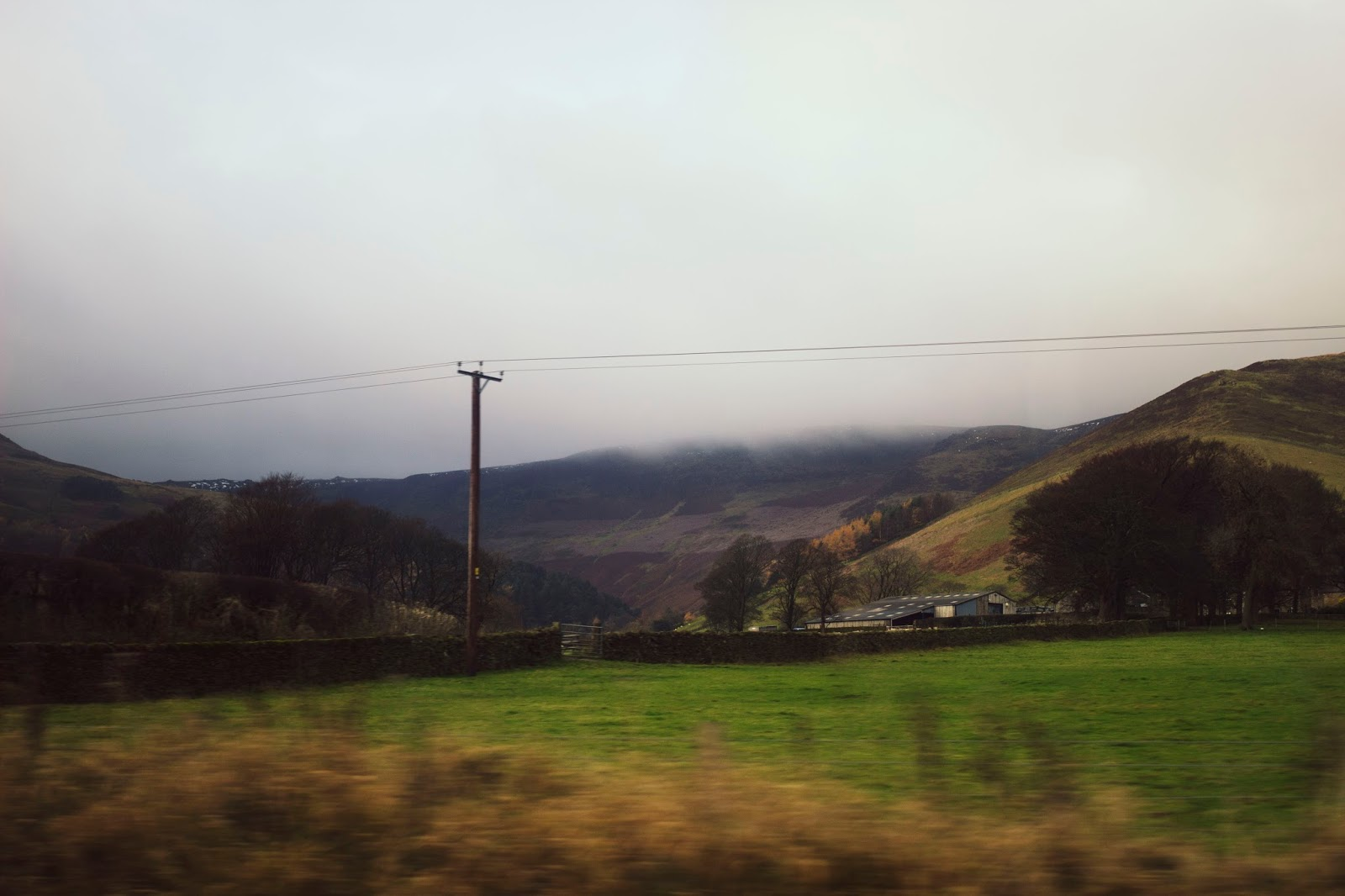 Hope Valley, View From a Train, East Midlands Trains, Katie Writes, Peak District, Pretty countryside, Countryside, Derbyshire Dales,