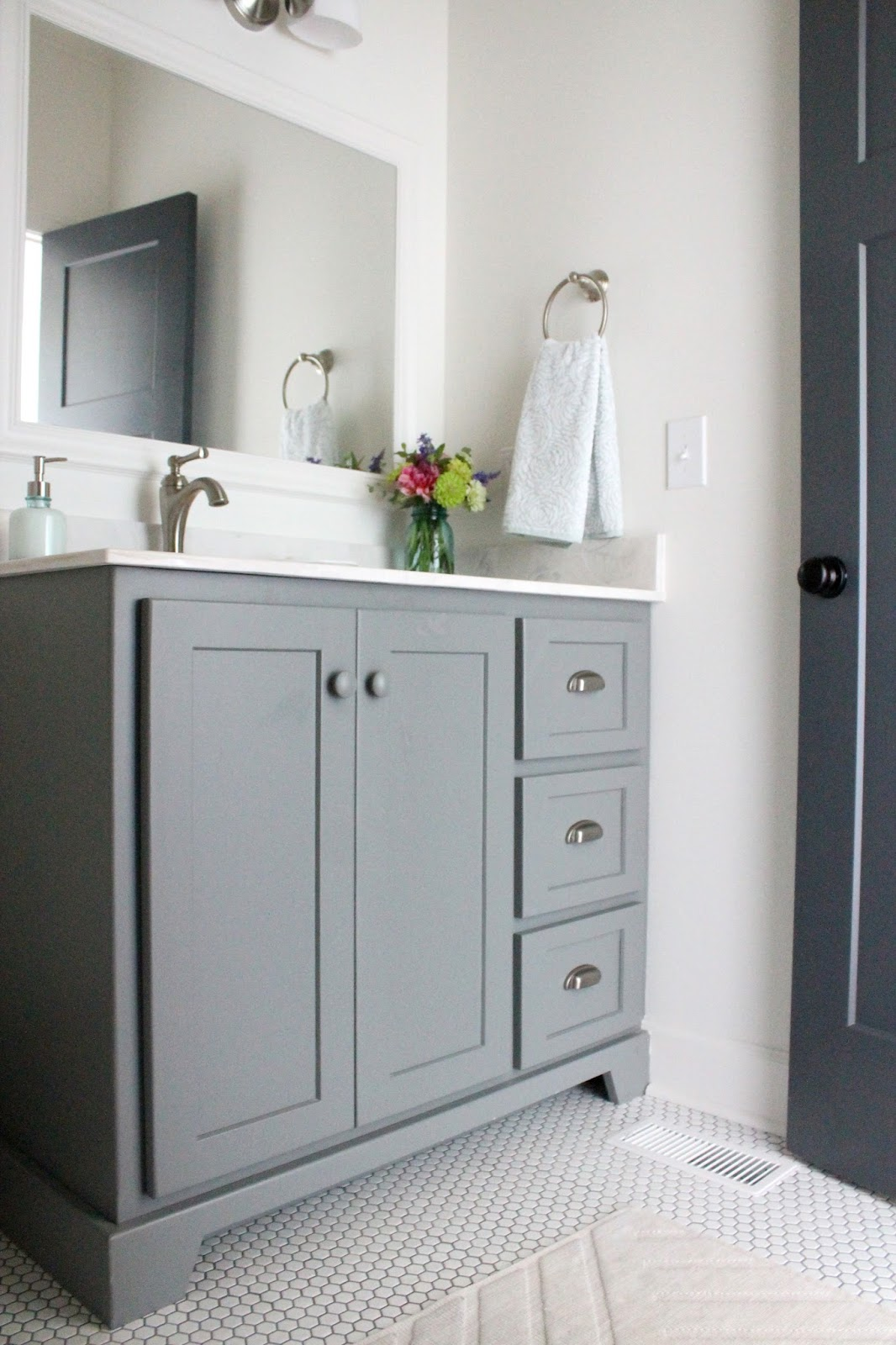Keeping It Cozy New Home Tour Guest Bathroom