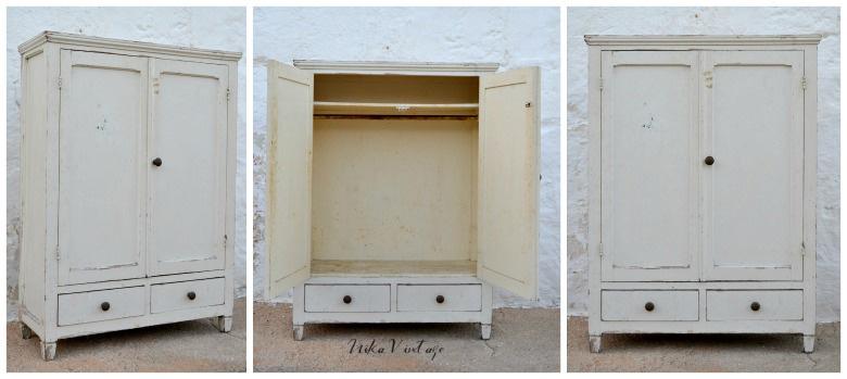 Un antes y después un poco loco, le he dado mucha vida a un antiguo mini armario