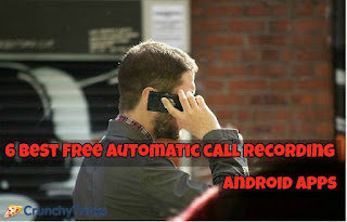 Automatic Call Recording Android Apps