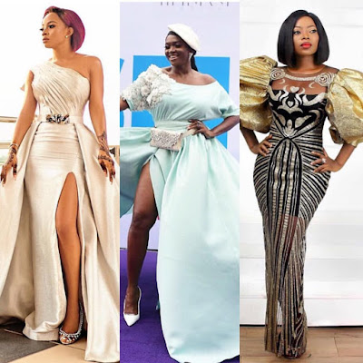Toke Makinwa, Waje, Omawumi, Latasha Ngwube, Layole Oyatogun, others step out in style for movie premiere