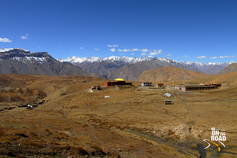 The high village Komic in the Spiti valley of Himachal Pradesh