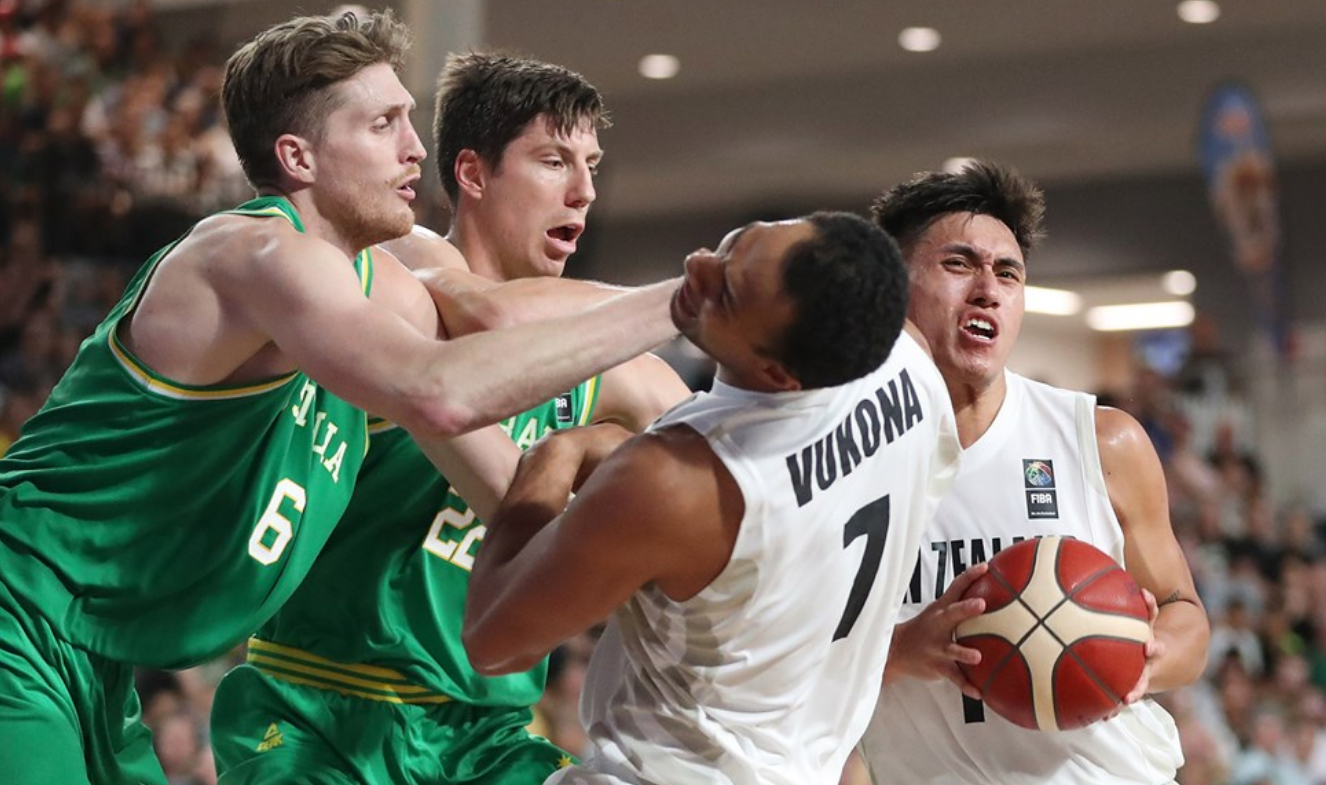 New Zealand def. Australia, 108-98 (VIDEO) 2021 FIBA Asia Cup Qualifiers | 1st Window