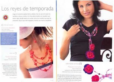 Revista Bisuteria Bijou Crochet
