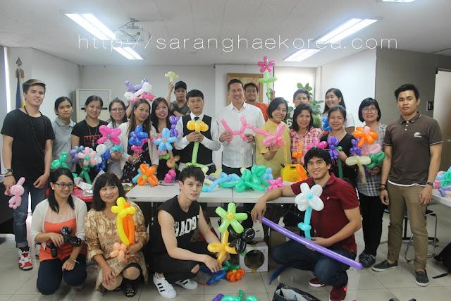 OWWA Conducts Balloon Twisting And Decoration Workshop to Filipino Migrants in Korea