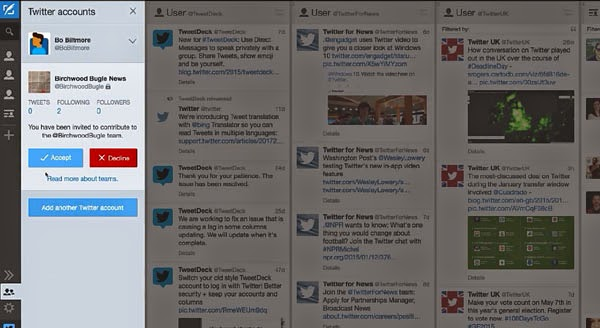 Twitter announces TweetDeck Teams: A simple solution to Twitter account sharing