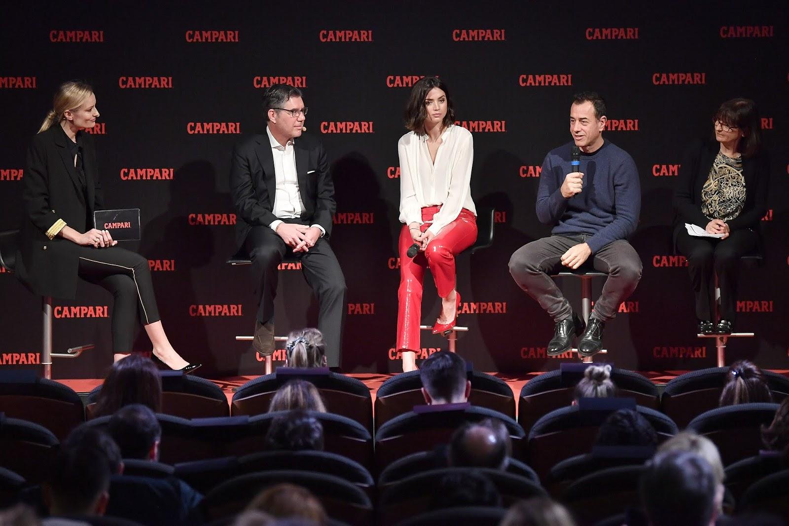 Ana de Armas - Campari Red Diaries 2019 Press Conference in Milan - 02/05/2019