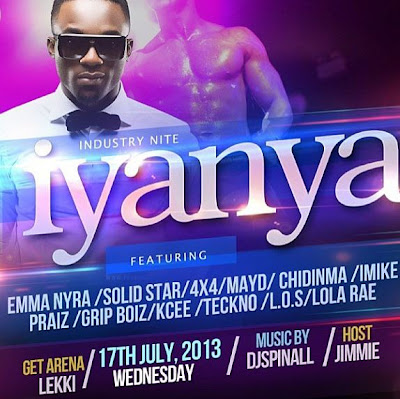 VIDEO: Industry Night with Iyanya