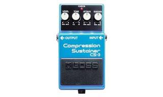 2. Efek Gitar Boss Compresor