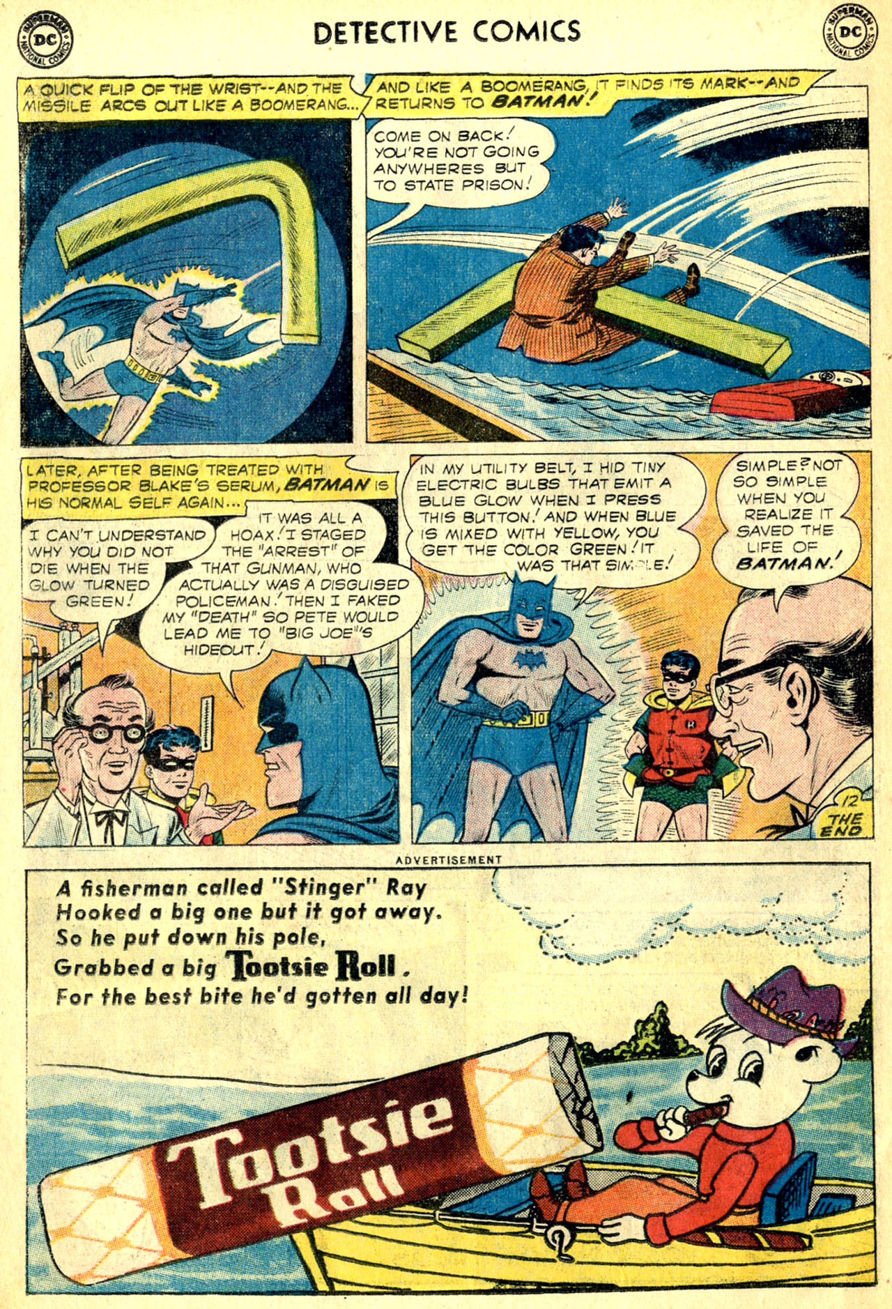 Read online Detective Comics (1937) comic -  Issue #268 - 14