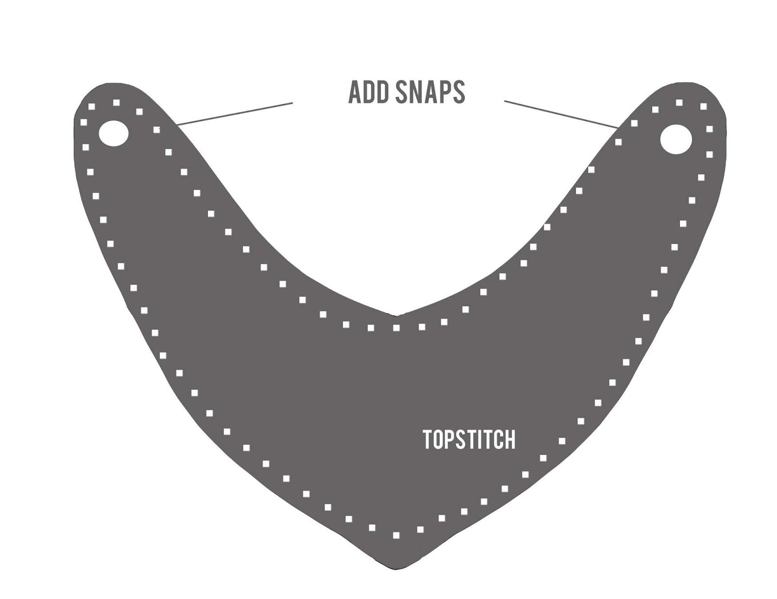 old fashioned bandana bib template elaboration resume template