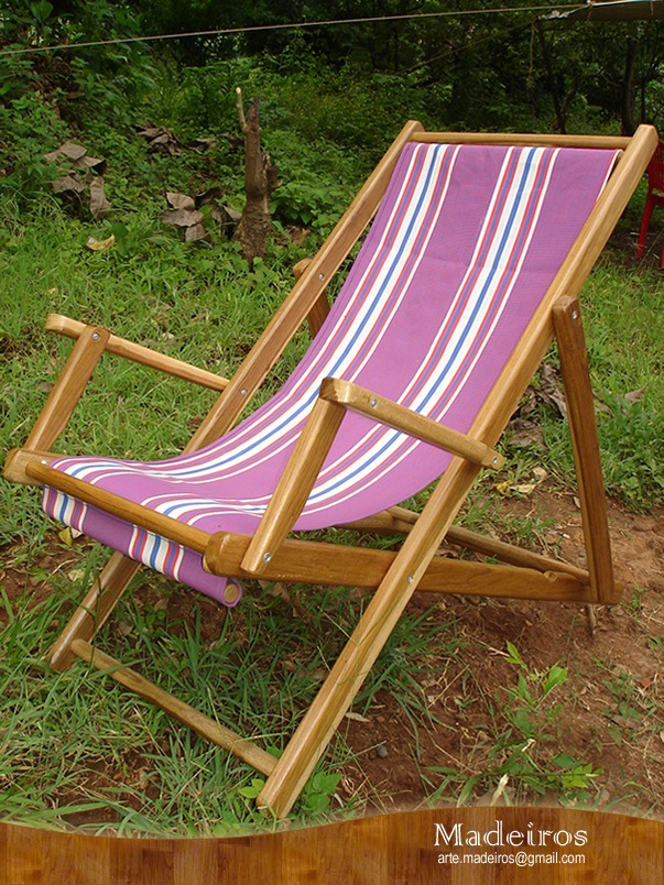 Canvas Beach Chairs: Canvas Wood Beach Chairs