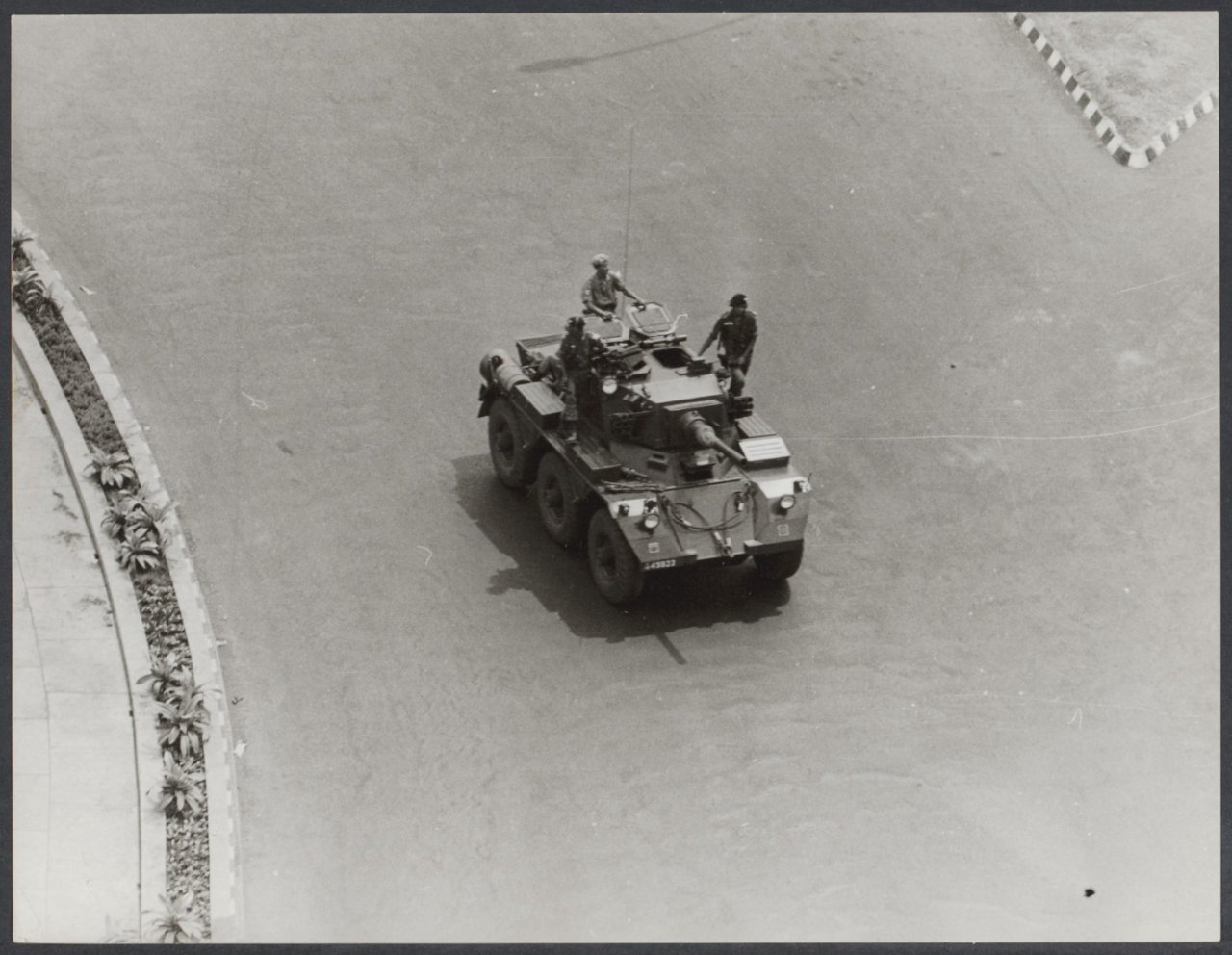 OLD INDONESIAN VEHICLES: Movement of Indonesian Army in
